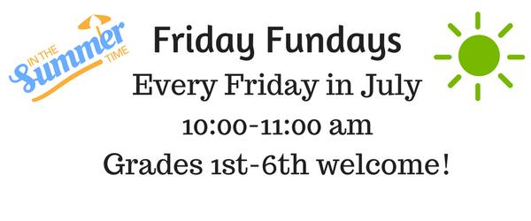 Friday Fundays