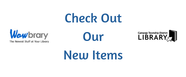 Click here to see our new items