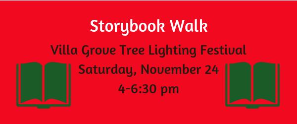 Storybook Walk on November 24