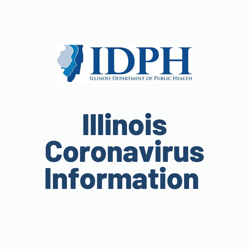Link to Illinois Coronavirus Information website